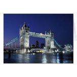 England, London, Tower Bridge 3 Greeting Cards