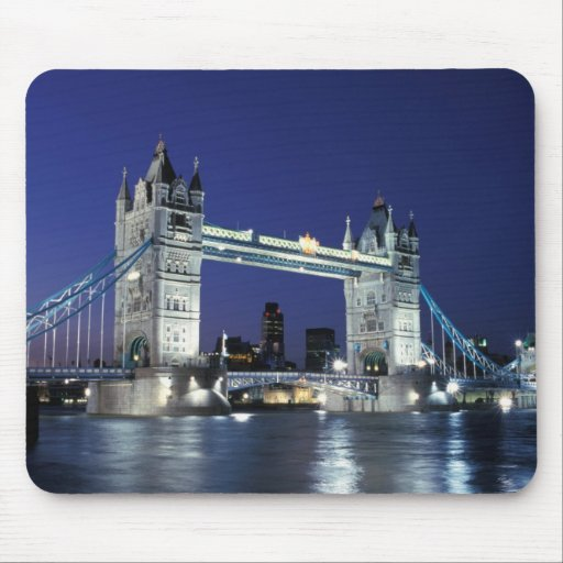 England, London, Tower Bridge 3 Mouse Pad