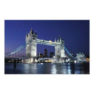 England, London, Tower Bridge 3 Photo Print