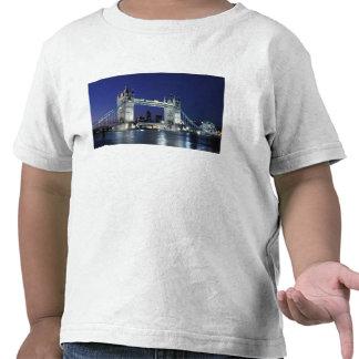 England, London, Tower Bridge 3 T Shirts