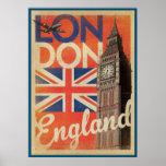 England, London. U.k. Poster