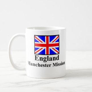 England Manchester Mission Drinkware Basic White Mug