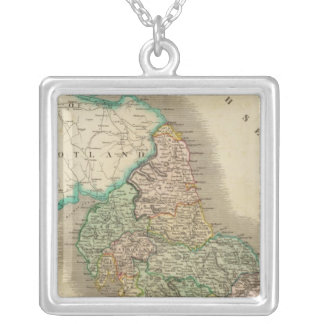 England north silver plated necklace