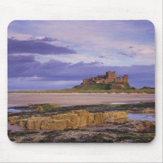 England, Northumberland, Bamburgh Castle Mouse Mat