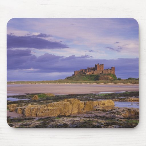 England, Northumberland, Bamburgh Castle Mouse Pads