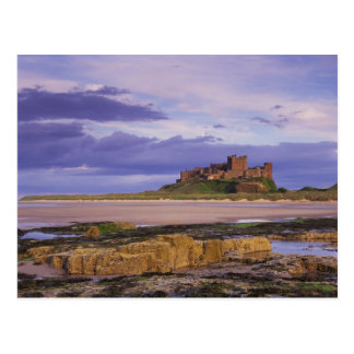England, Northumberland, Bamburgh Castle Postcard