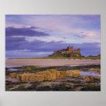 England, Northumberland, Bamburgh Castle Print