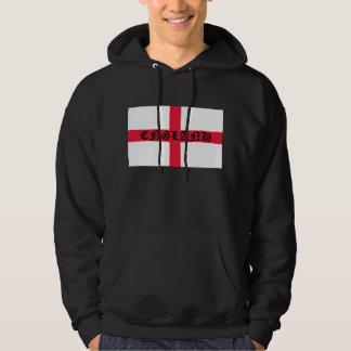 England on English Flag Hoodie
