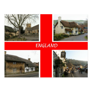 England PC - Customized - Customized Postcard
