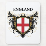 England [personalise] mouse pad