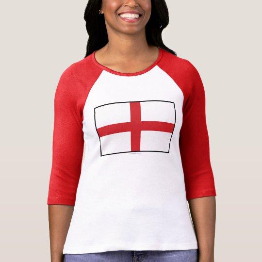 England Plain Flag T-Shirt