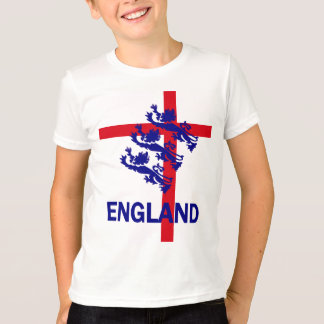 England Royal standard and St George cross T-Shirt
