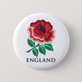 England Rugby 6 Cm Round Badge