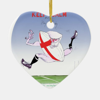 england rugby, tony fernandes christmas ornament