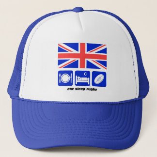 England rugby trucker hat