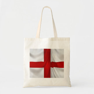 England s St George Cross Patriotic Flag Tote Bags