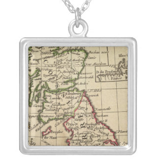 England, Scotland, Ireland Silver Plated Necklace