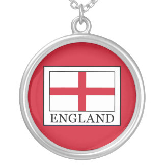 England Silver Plated Necklace
