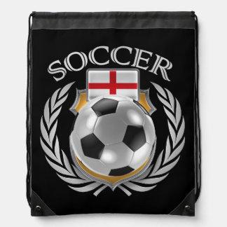 England Soccer 2016 Fan Gear Drawstring Bags