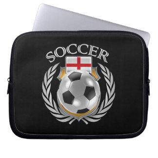 England Soccer 2016 Fan Gear Laptop Sleeves