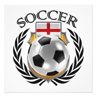 England Soccer 2016 Fan Gear Photographic Print