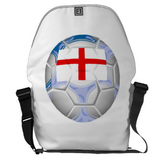England Soccer Ball Messenger Bags
