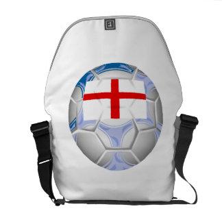 England Soccer Ball Messenger Bag