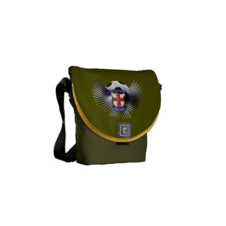 England Soccer Champions Courier Bags
