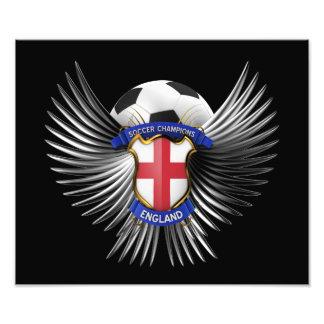England Soccer Champions Photo Print
