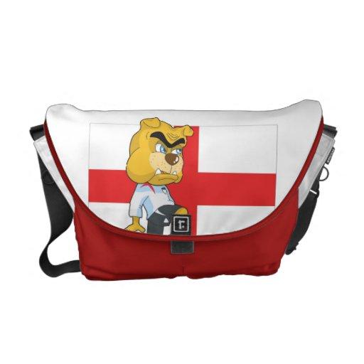 England Soccer Messenger Bag