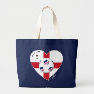 ENGLAND Soccer Team Fútbol de Inglaterra 2014 Bolsas De Mano