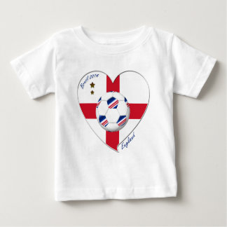 """ENGLAND"" Soccer Team. Soccer of England 2014 Baby T-Shirt"