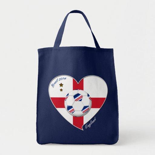 """ENGLAND"" Soccer Team. Soccer of England 2014 Bag"