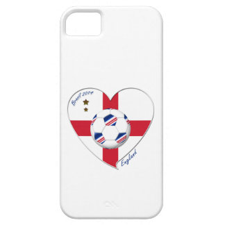 """ENGLAND"" Soccer Team. Soccer of England 2014 Barely There iPhone 5 Case"