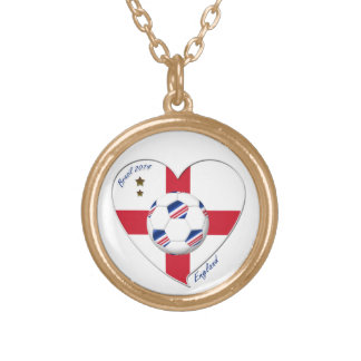 """ENGLAND"" Soccer Team. Soccer of England 2014 Personalized Necklace"