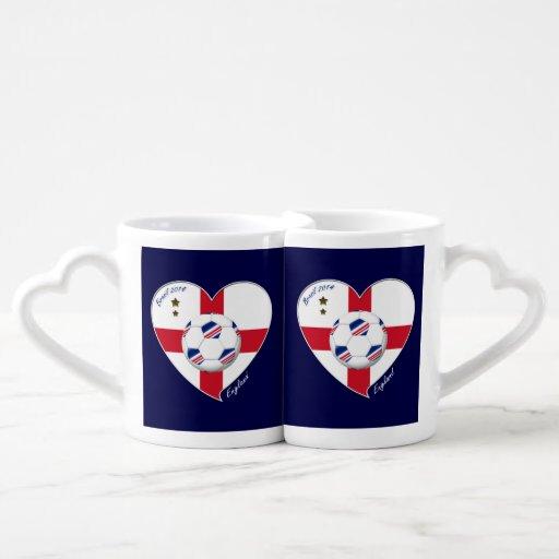 """""""ENGLAND"""" Soccer Team. Soccer of England 2014 Couples Mug"""