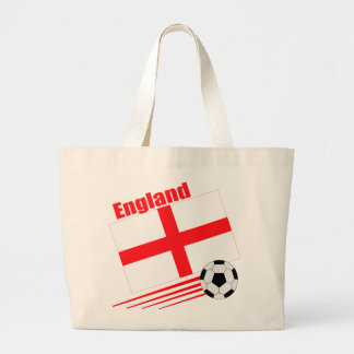England Soccer Team Tote Bags