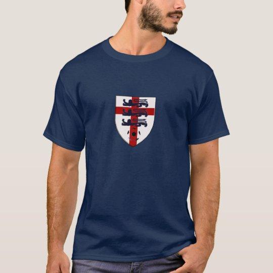 England Soccer three lions shield T-Shirt