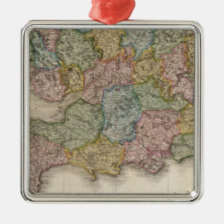 England, southern part christmas ornament