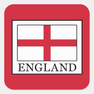 England Square Sticker