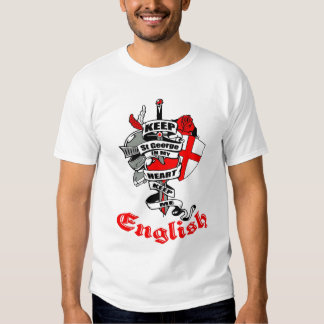 ENGLAND ST GEORGE TSHIRT