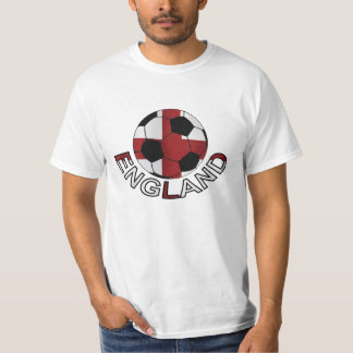 England st Georges cross soccer ball T-Shirt