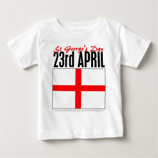 England, St George's Day Baby T-Shirt