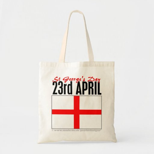 England, St George's Day Tote Bag