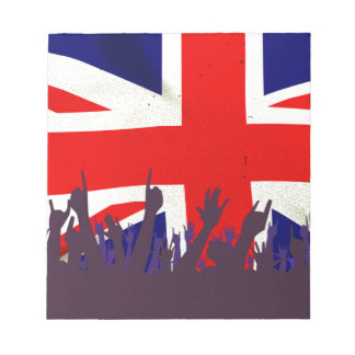 England State Flag with Audience Notepad