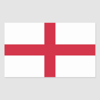 ENGLAND RECTANGLE STICKERS