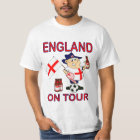 England supporters on tour #2 T-Shirt