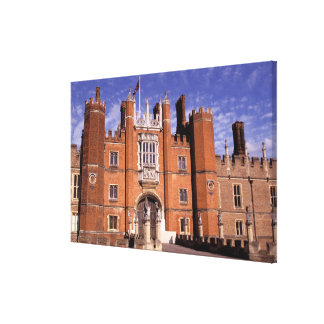 England, Surrey, Hampton Court Palace. 3 Canvas Print