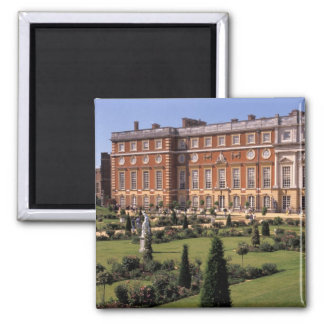 England, Surrey, Hampton Court Palace. Square Magnet