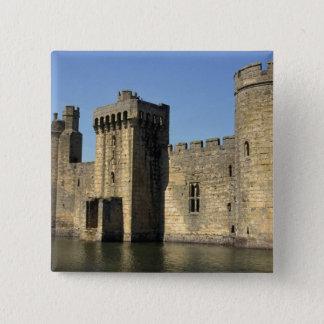England, Sussex, Bodiam Castle. 15 Cm Square Badge